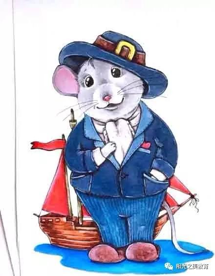 2020鼠年创意绘画,收藏~