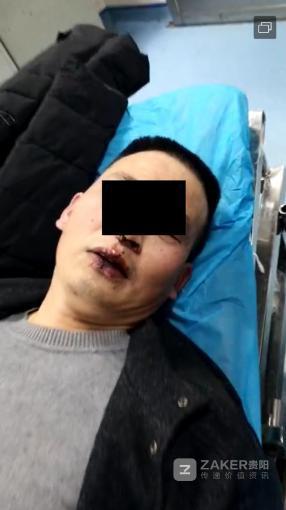 将的哥拽出驾驶室暴打   贵州一男子被拘留 10 日_杨师傅