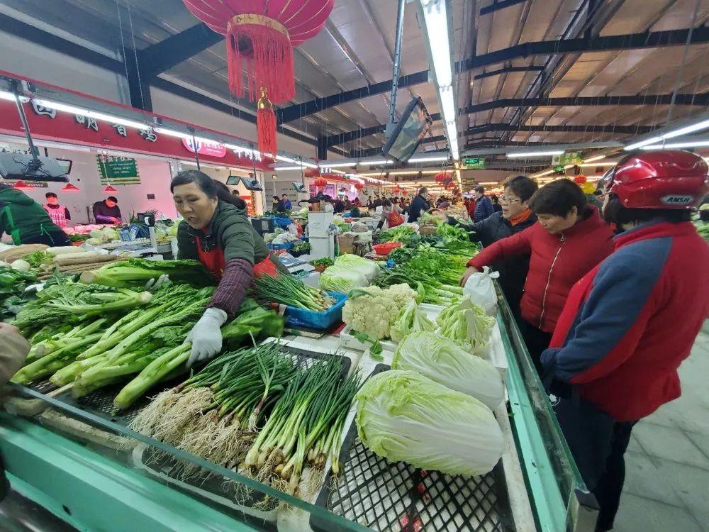 菜品丰富、环境整洁、还很智慧化!新孔浦菜市场靓丽开业