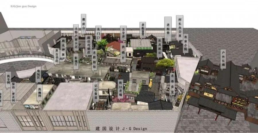 亳州建安广场平面图