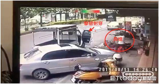 臺灣街頭槍戰視頻曝光!有人被一彈穿心......
