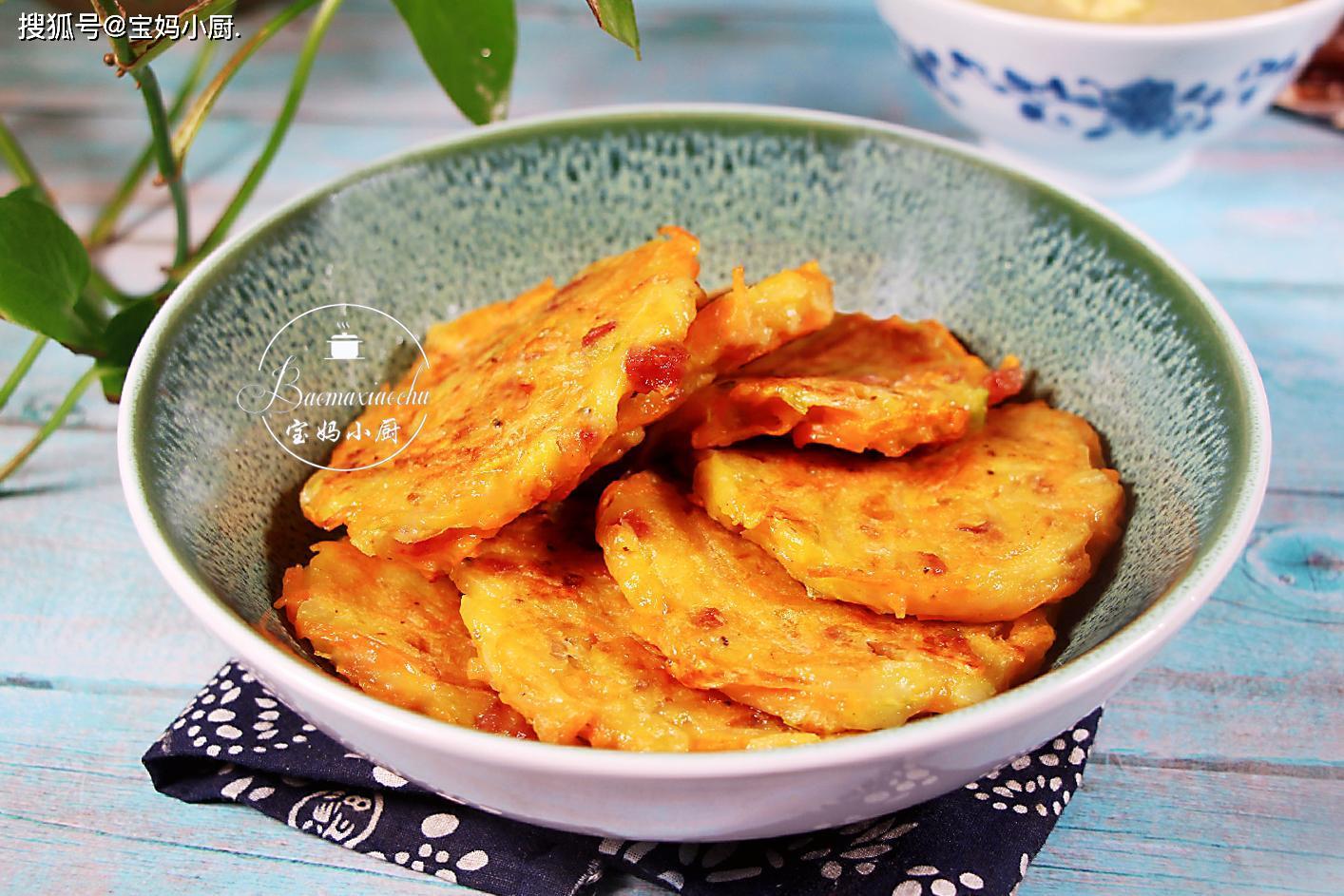 紫薯饼串图片