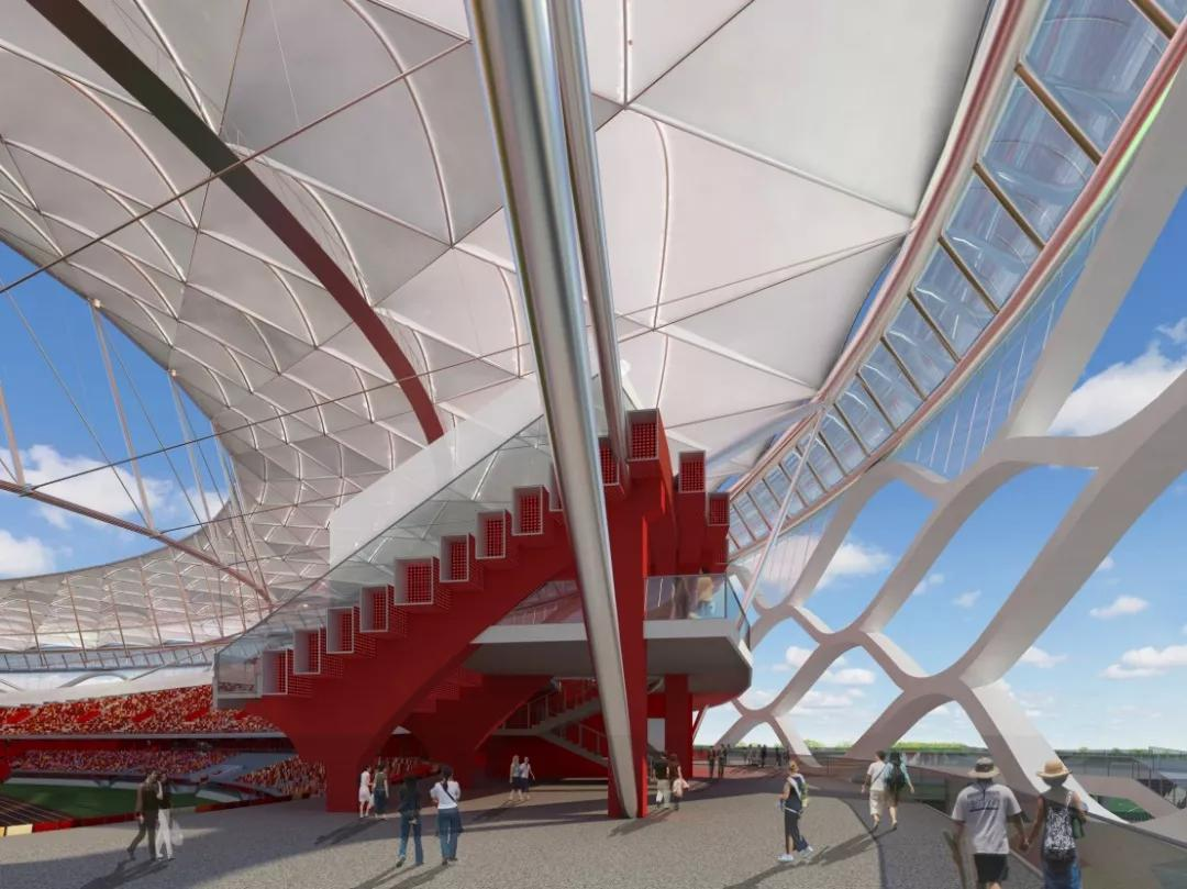 静安区景观膜结构公司为您服务_-黎志钢结构设计