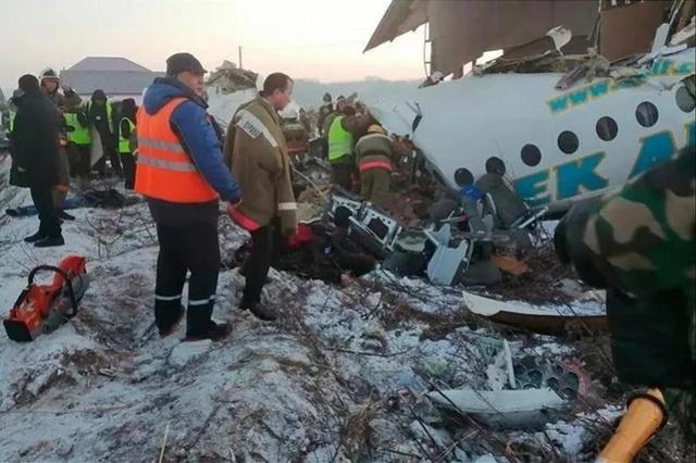哈萨克斯坦总统就坠机事件表示哀悼!我使馆正核实是否涉中国公民