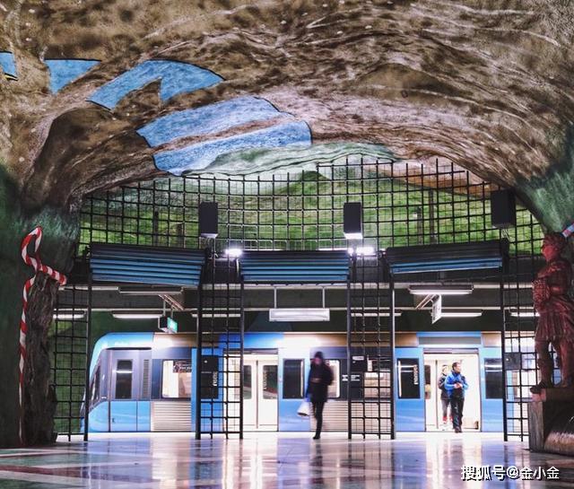 欧洲最美地铁站,每一站都精心设计,堪称是色彩的盛宴