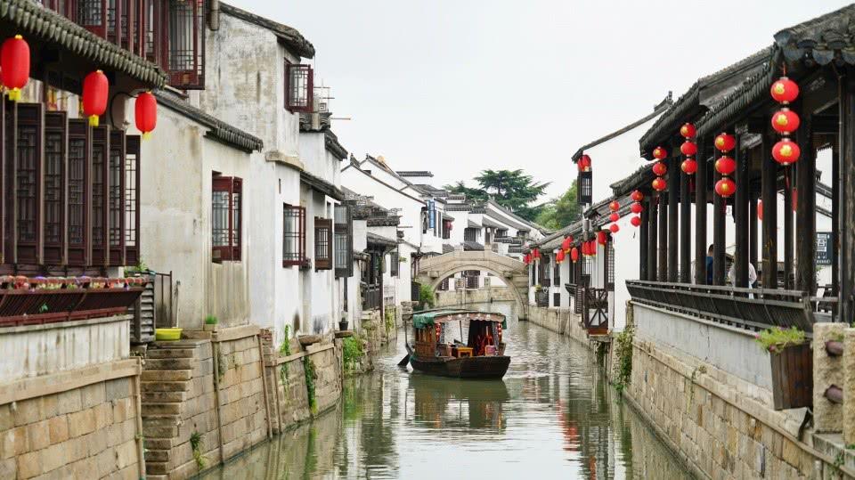 苏州最小众的古镇,它与周庄同里齐名,却因为名字难读而鲜为人知