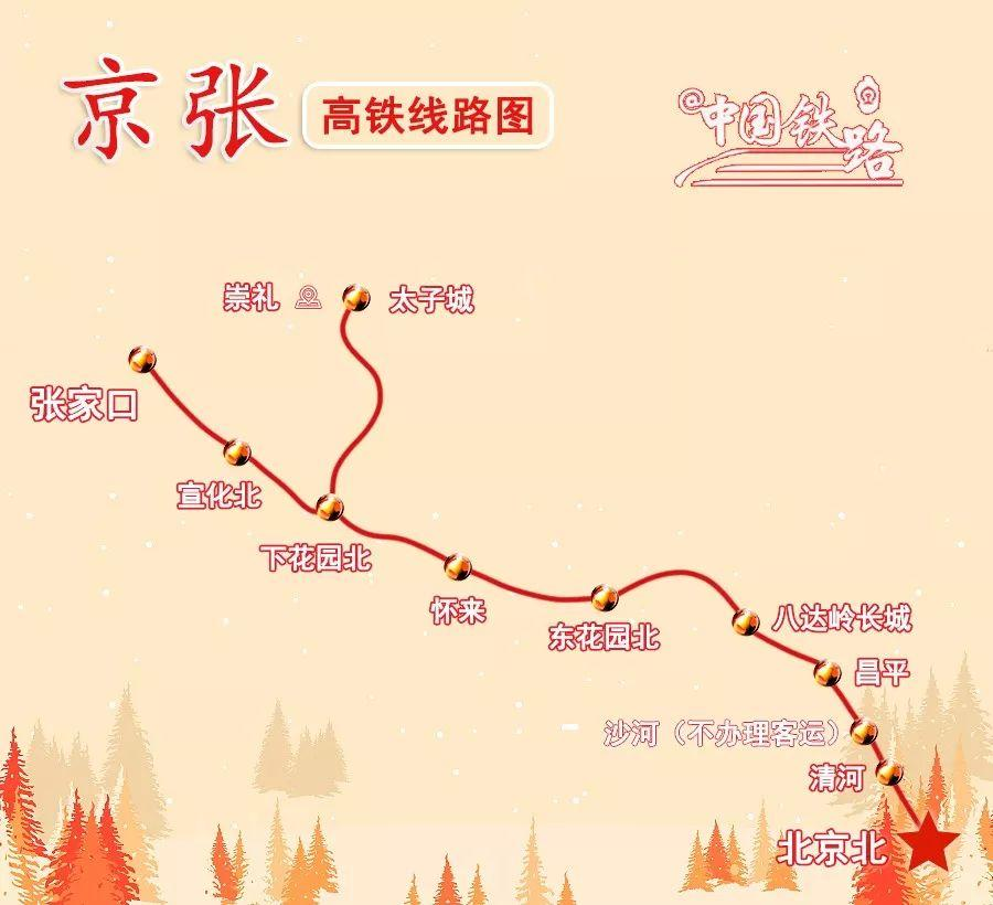定了!京张高铁12月30日开通运营!
