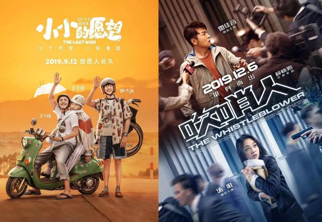 2019华语票房排行榜_北京国际电影节