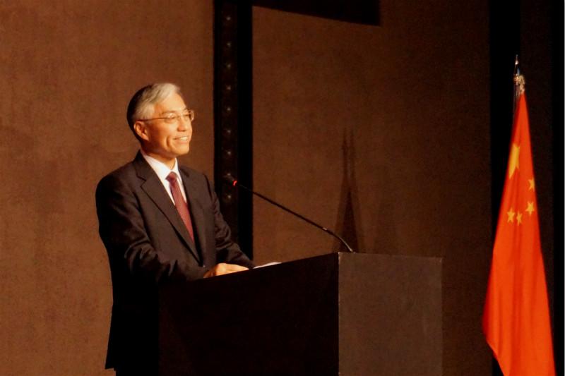 邱国洪即将离任中国驻韩国大使,曾被授予围棋业余五段证书