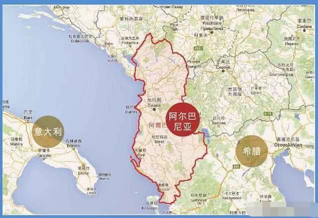 阿尔巴尼亚人均gdp_阿尔巴尼亚地图
