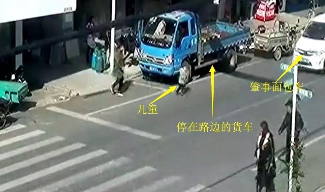 2岁幼童被撞飞数米远!这起案例给家长们敲响警钟_人行横道