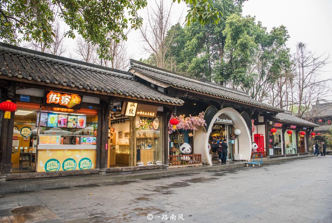 原创             全球最美街道,成都锦里排名第一,亚洲仅两个地方上榜!