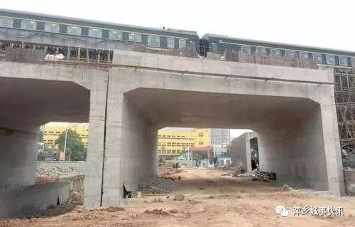 定了,元月5日萍乡城区这个铁路桥终于要通车了。