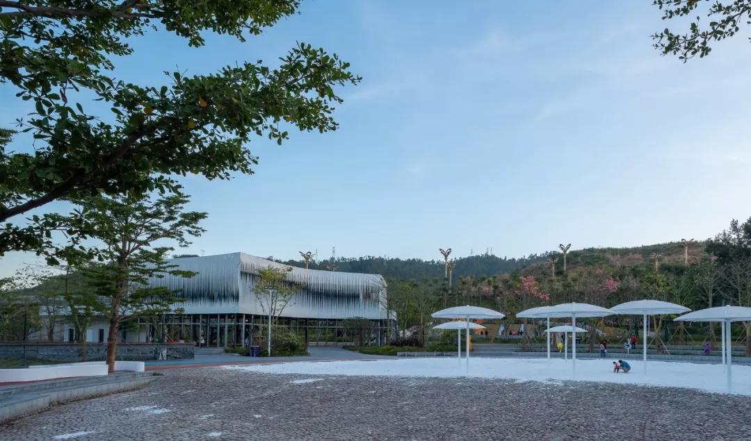 怡境景观设计:普达合同西南群麓中的康养圣地签有无阳光前装修设计图图片
