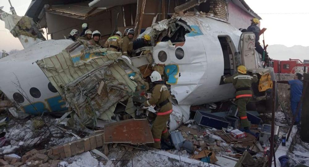 哈萨克斯坦坠机黑匣子已找到 将被送往俄罗斯进行分析