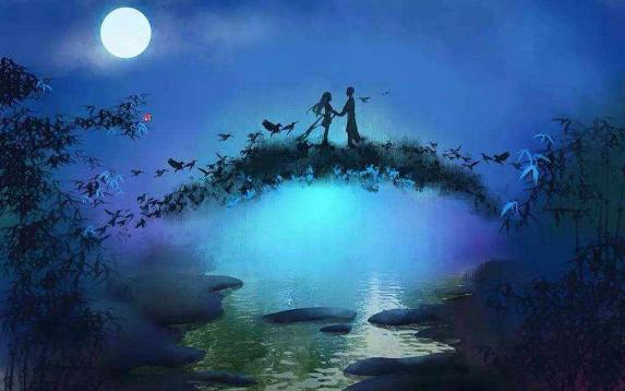 七夕传说,爱情总是一路曲折,织女就曾被许配给了董永