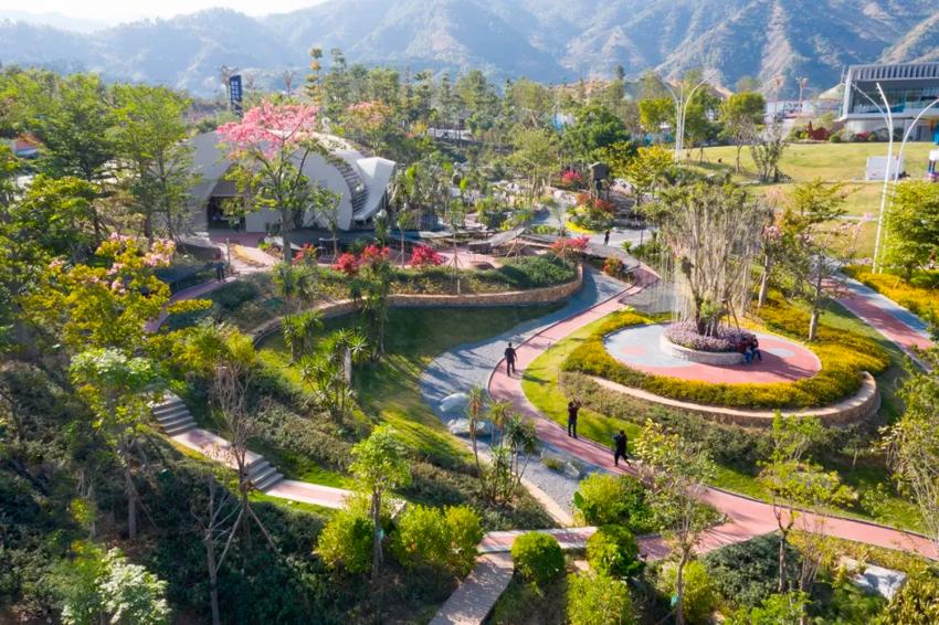 怡境景观设计:普达阳光西南群麓中的康养圣地分型模具设计图片