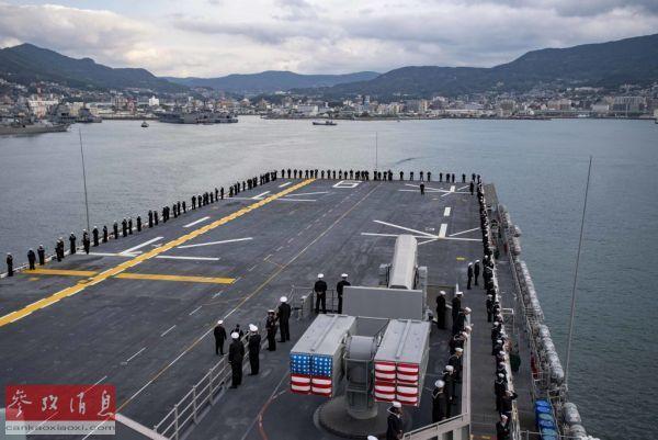 """军情锐评:""""美利坚""""号两栖战舰驻日 不利亚太和平稳定"""