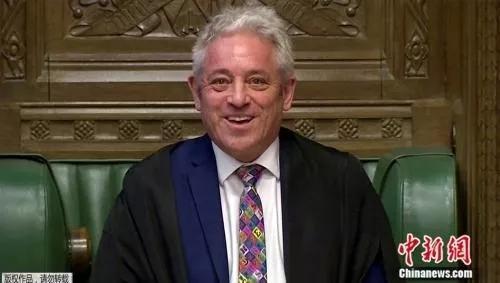 英国前下议院议长未获授勋 疑首相约翰逊作梗