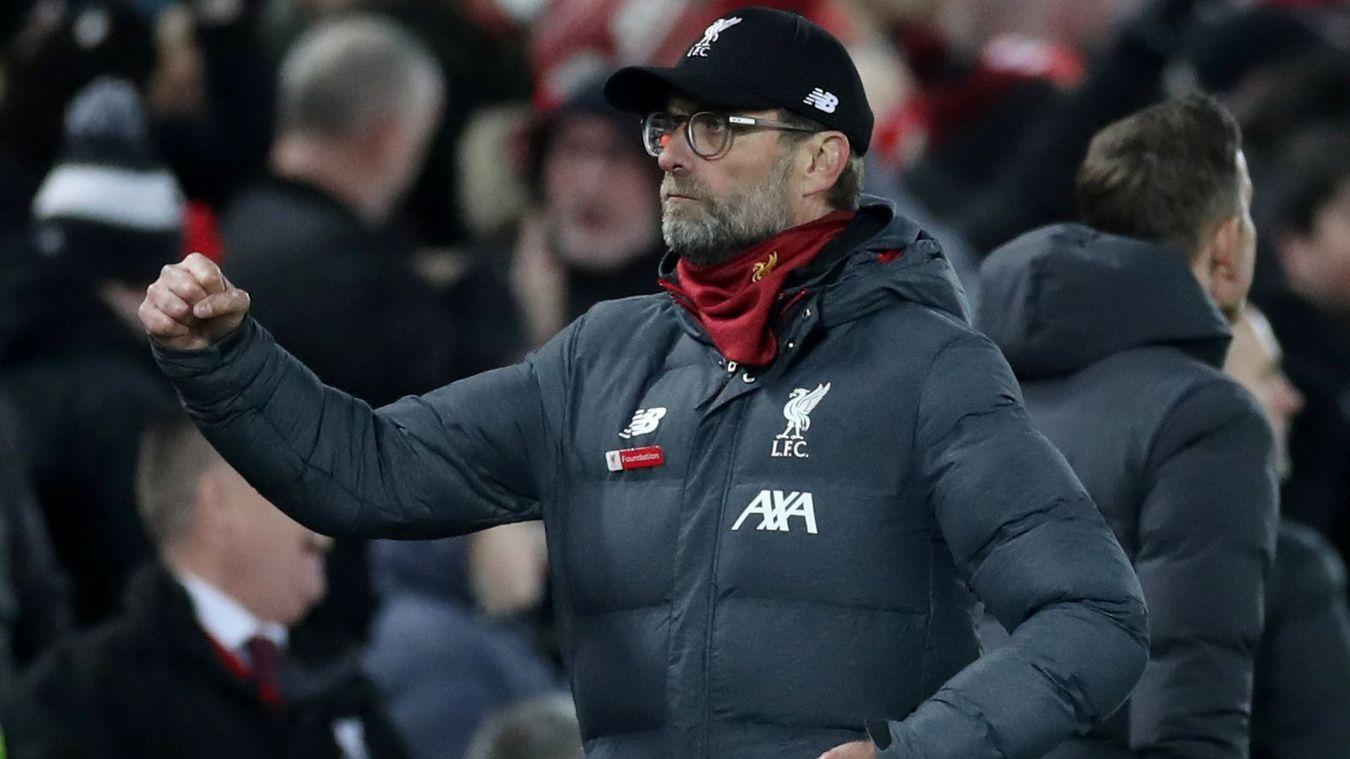 利物浦联赛主场50场不败 2019年仅输曼