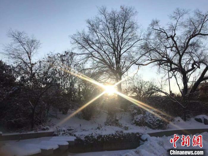 连下一天两夜 黑龙江迎来2019年最后一场区域性暴雪