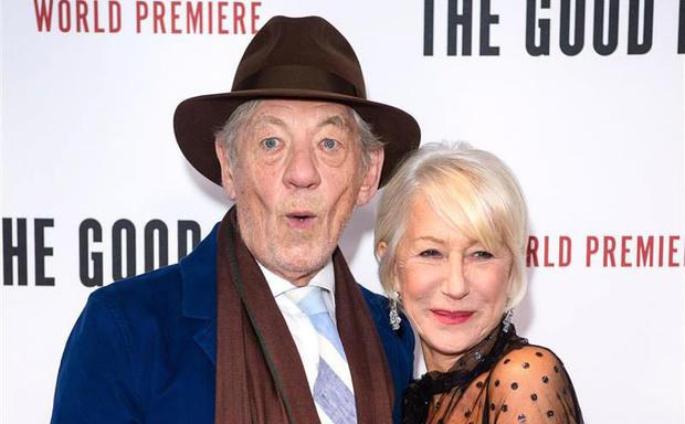 79岁麦克莱恩和72岁海伦米伦黄昏恋