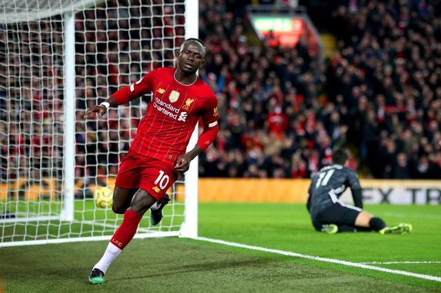 英超最新积分榜:利物浦豪取联赛10连胜,榜首优势扩大至13分
