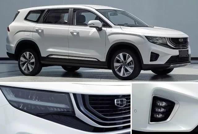 汉兰达又有对手了 吉利全新七座中型SUV VX11明年上市