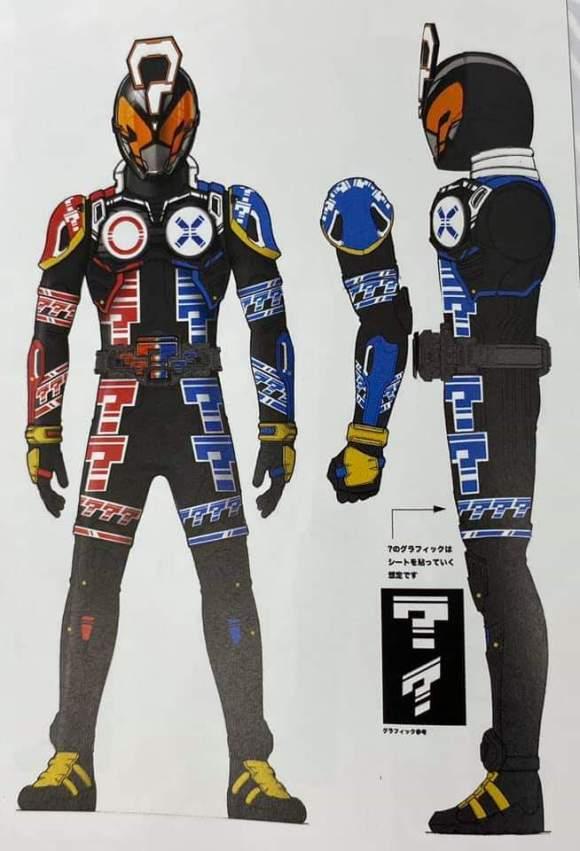 假面骑士时王未来骑士设计图 忍者造型最为帅气,机械风格最为简洁