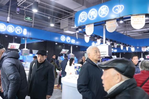 彩虹农贸市场喜迎开业,反响热烈人气火爆
