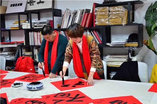 万恒艺术年度盛典启动仪式在万恒艺术馆正式启动