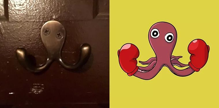 This brain hole artist painted objects that are used to in life as stupid little animals