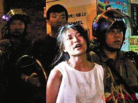 郑州公共广播涉嫌袭警,香港候任女区议员被预