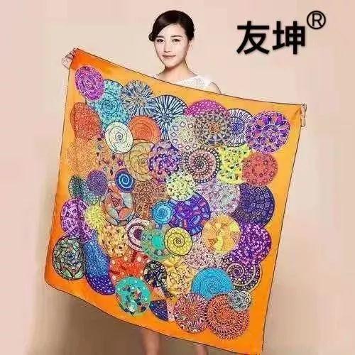 庆元旦,迎新年丨白鸭绒女羽绒服88元,高端苏州丝绸方巾免费送送送