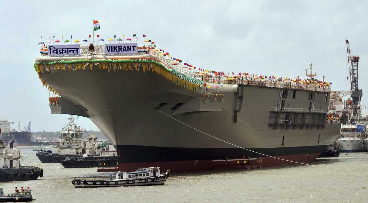 印度海关截获大批航母弹射器零件,却无人认领,到底走私到哪?