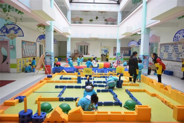 小区域蕴藏大世界,让游戏滋养孩子的幸福童年_活动