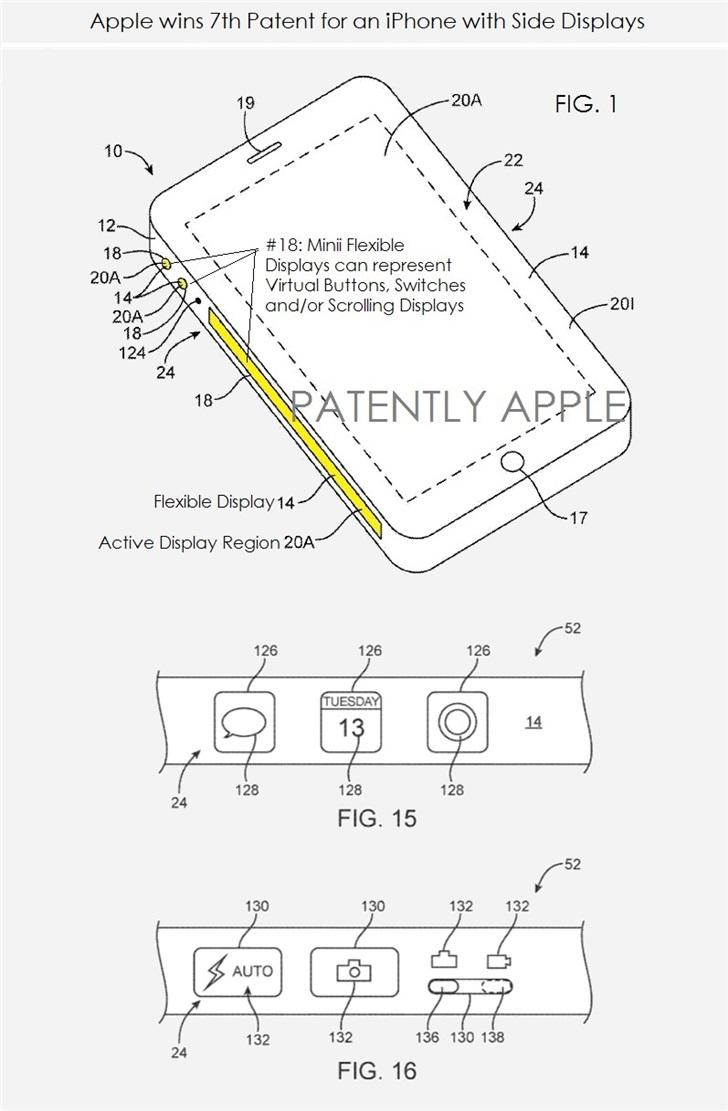 传销窝里的女人们苹果获iPhone侧面显示屏虚拟按