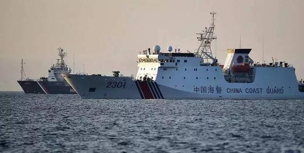今年第32天!中国海警船巡航钓鱼岛