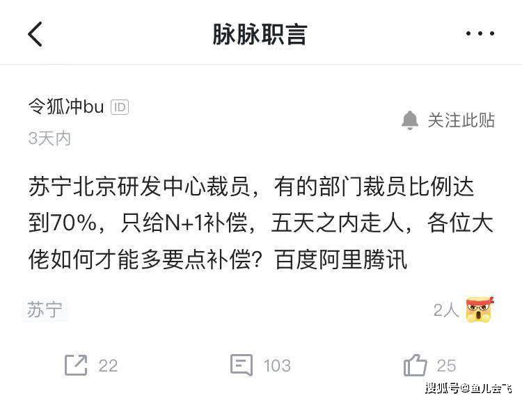 苏宁否认裁员:为绩效不合要求者予以调整优化