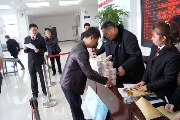 彭泽法院举行2019年第三次执行案款集中兑现大会(附抖音视频)