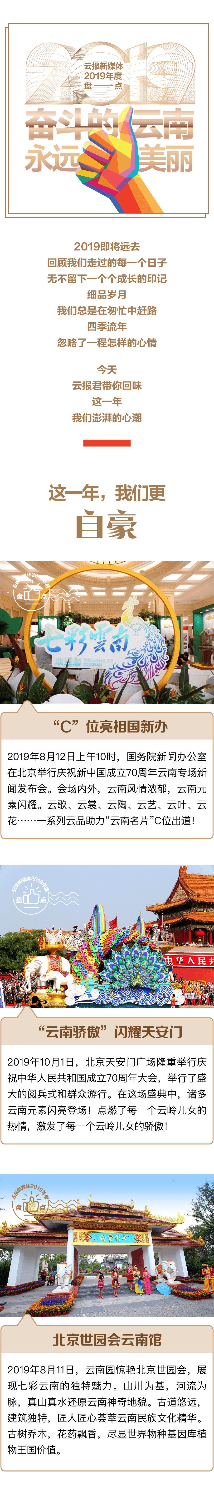 云报新媒体2019年度盘点丨奋斗的云南永远美丽
