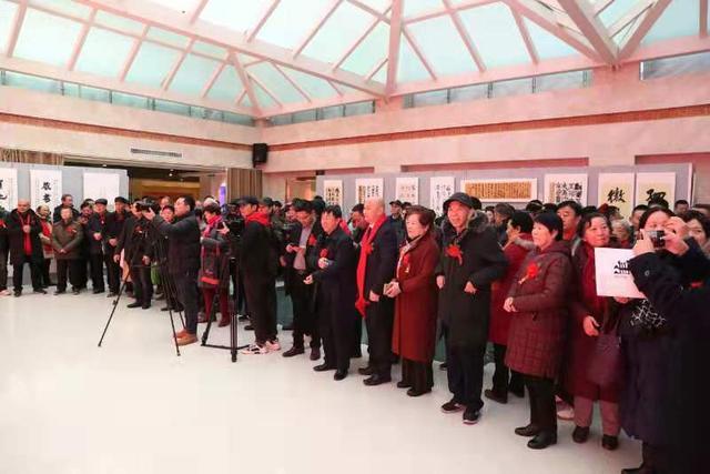 """庚子迎春""""十人书法展在河南郑州开展"""