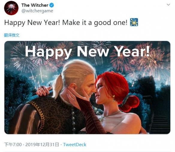 《巫师》《赛博朋克2077》小岛秀夫等发出新年祝福