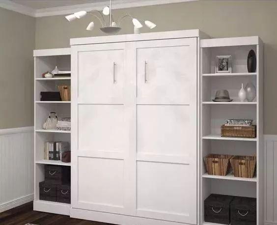 小卧室不要再买床了!头次看到这种设计,多功能又省空间,太实用了!