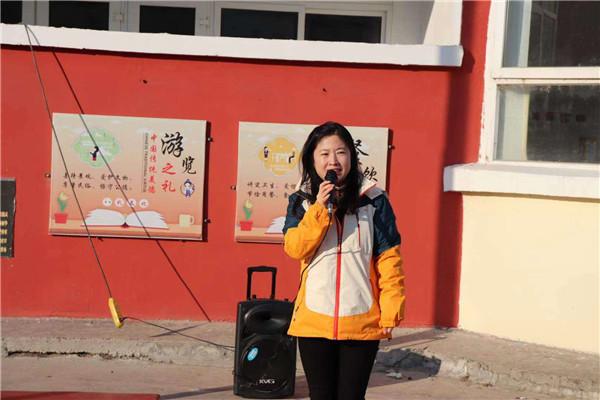 活力桂幼,奔跑随心 一一记桂五镇中心幼儿园工会活动