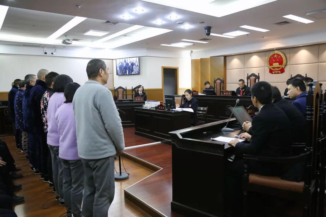 张一平等22人重大涉黑案一审公开宣判!