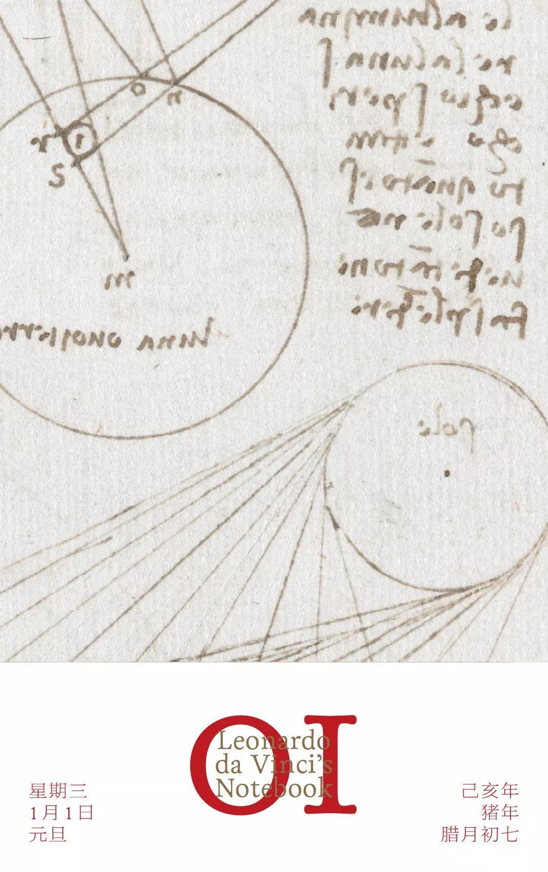 1月1日 | 无所不包的达芬奇手记