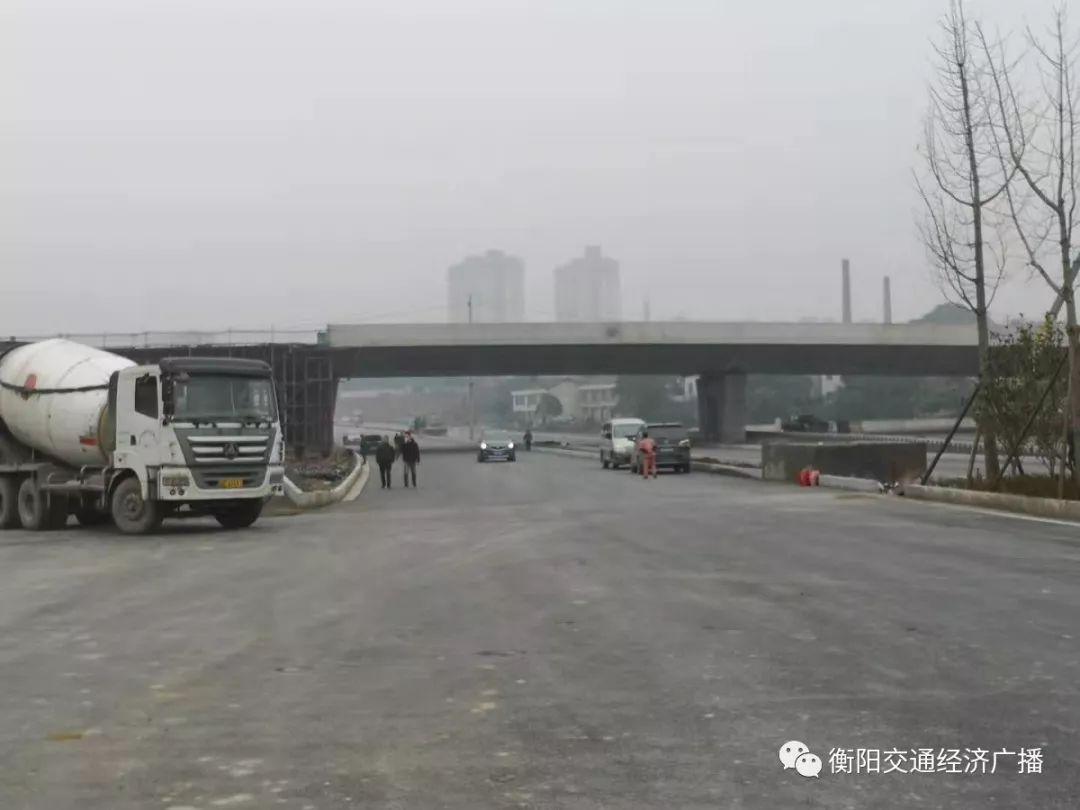 定了!衡阳合江套湘江隧道2020年1月6日通车