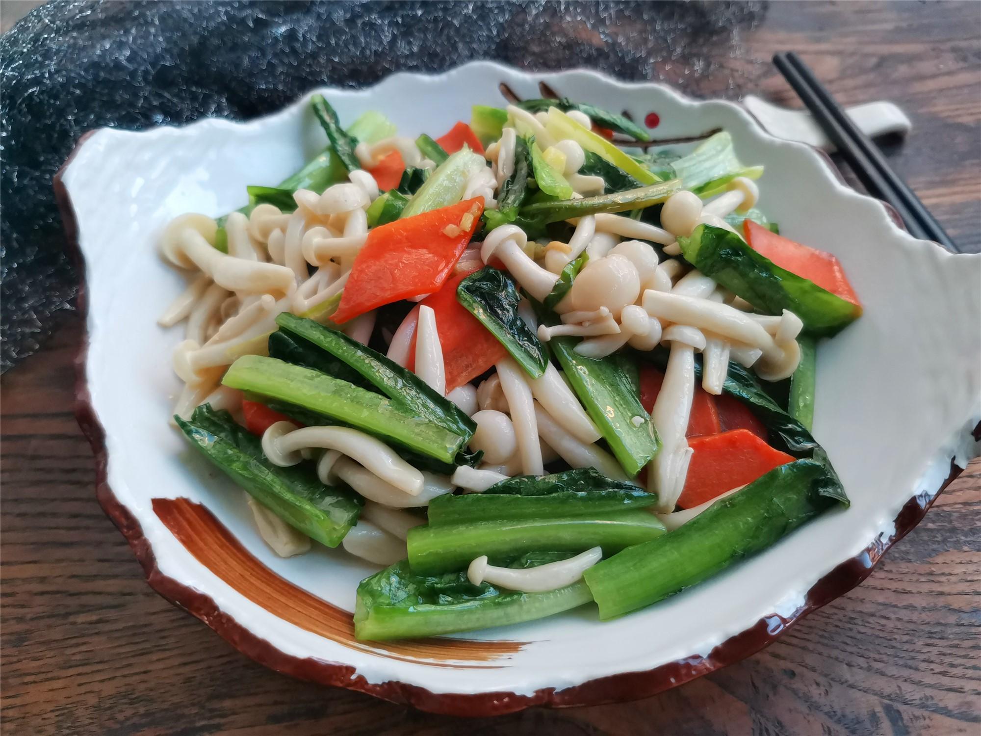 家常素菜小炒,做法简单又营养,