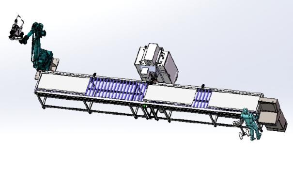 机柜门板自动焊接流水线定制项目介绍